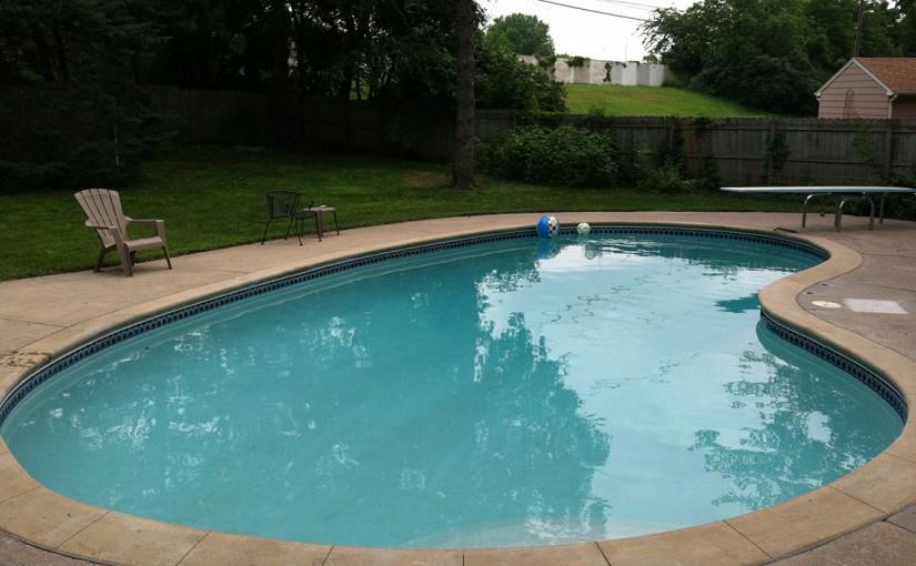 swimming pool building materials