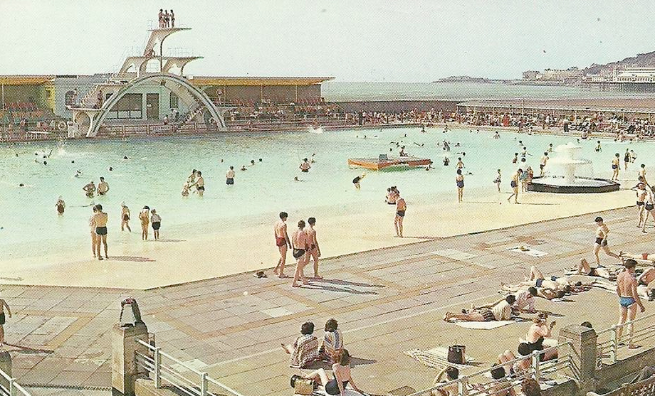 the history of the modern day swimming pool sundays off pools
